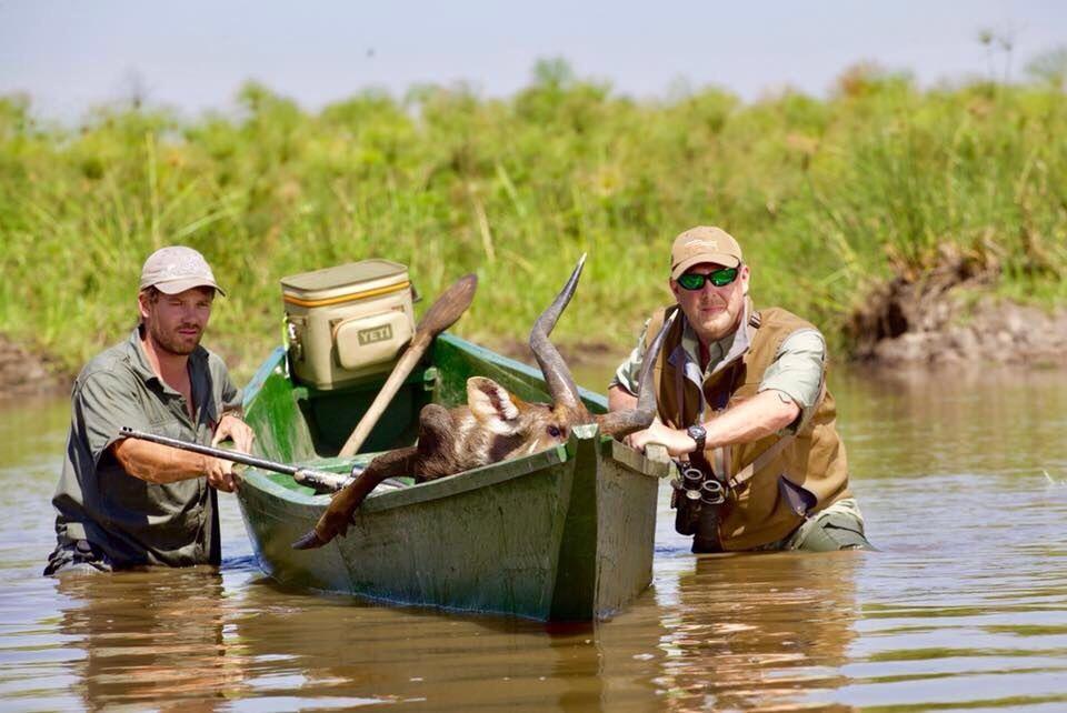 uganda wildlife safaris trophy photos 2017 (23) sitatunga