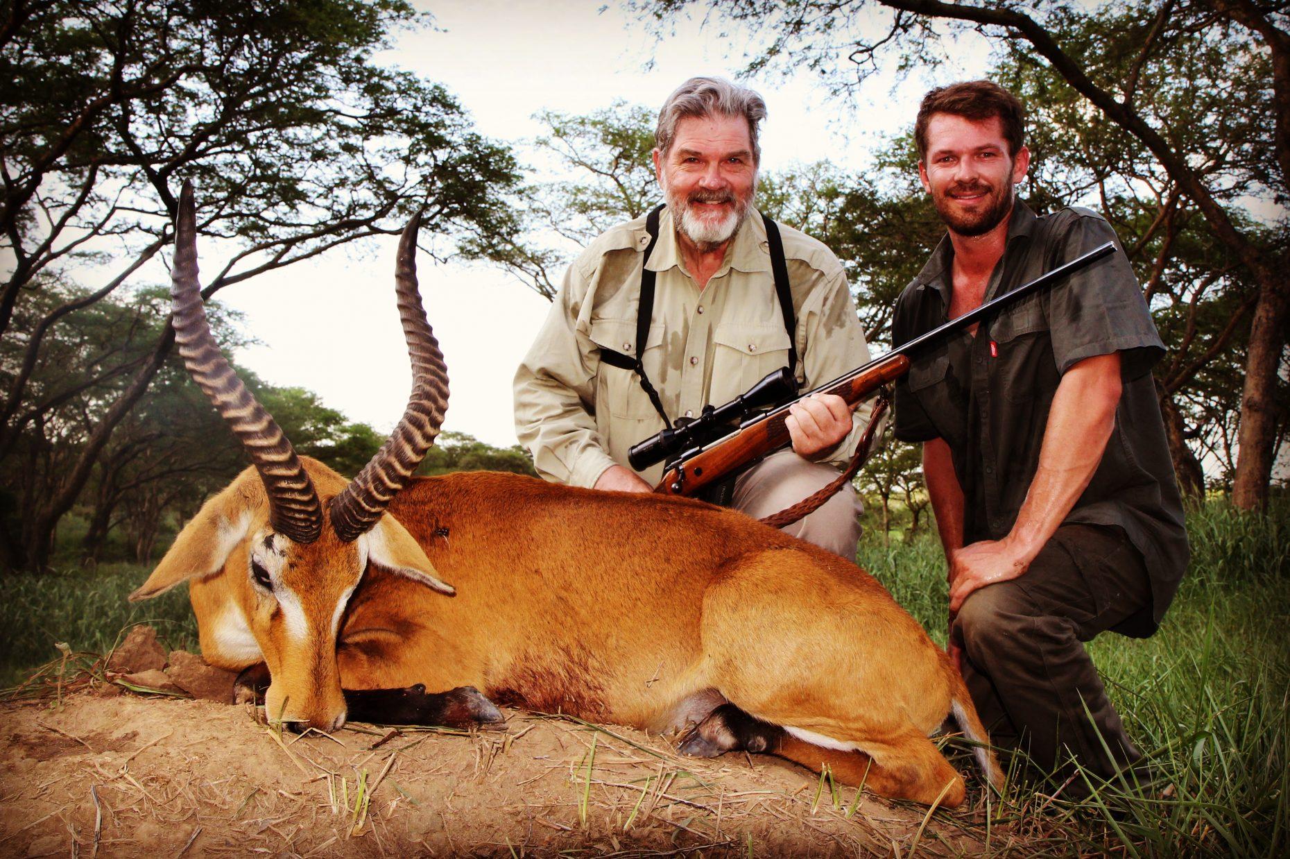 uganda wildlife safaris trophy photos 2017 (34) kob